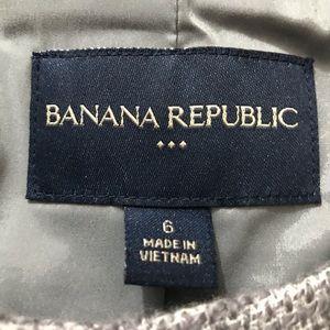 Banana Republic Jackets & Coats - 52% Wool Blazer BANANA REPUBLIC short capped sleev